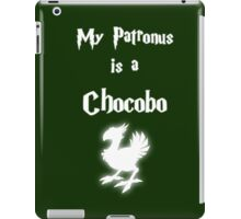 My Patronus is a Chocobo iPad Case/Skin