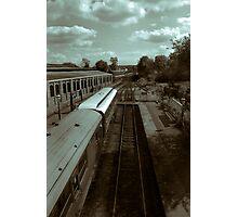 The Last Train To......... Photographic Print