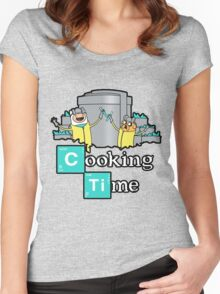 It's Cooking Time ... Women's Fitted Scoop T-Shirt