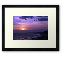 Solar Winds Framed Print