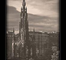 Scott Monument - Edinburgh by Chris Clark