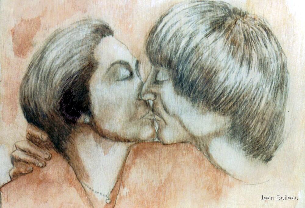 John and Yoko by Jean Boileau