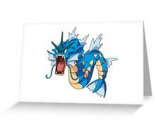 POKEMON GYARADOS Greeting Card