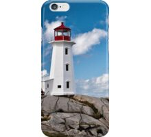Peggy's Cove Light iPhone Case/Skin