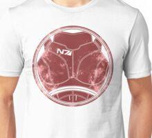 N7 Chestplate - Femshep Unisex T-Shirt