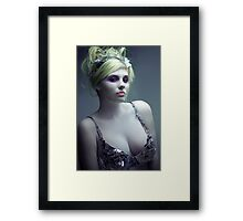 Ice. Framed Print