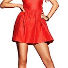 Taylor Swift - Red Dress by tetrahedron