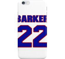 National baseball player Glen Barker jersey 22 iPhone Case/Skin