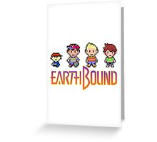 Earthbound Gang Greeting Card