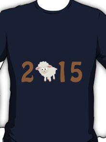 2015 - Cute sheep T-Shirt