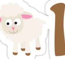 2015 - Cute sheep Sticker