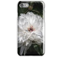 White peony II iPhone Case/Skin