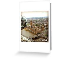 England - View from the Eye Greeting Card