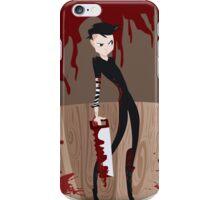 Johnny The Homicidal Maniac iPhone Case/Skin