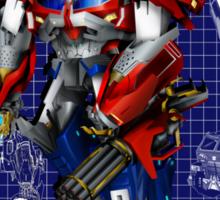 Beast Hunters Optimus Prime  Sticker