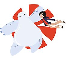 BIG HERO 6 - BAYMAX&HIRO Photographic Print