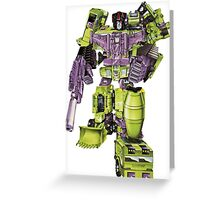 Devastator 2012 Greeting Card
