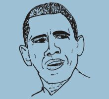 Barack Obama Sketch by irregulargoods