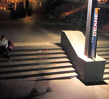 Sydney's Silhoette by Keg Evans