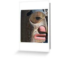 Totem Greeting Card