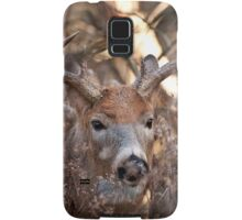 White Tailed Deer Buck In Woods Samsung Galaxy Case/Skin