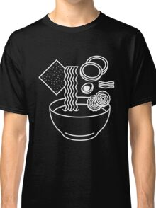 Ramen Line Drawings Classic T-Shirt