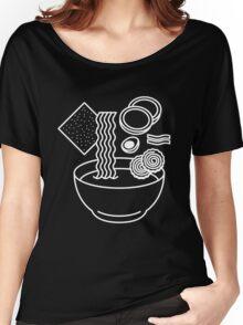 Ramen Line Drawings Women's Relaxed Fit T-Shirt