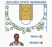 Stephen Curry Shot Chart Golden State Warriors Kids Clothes