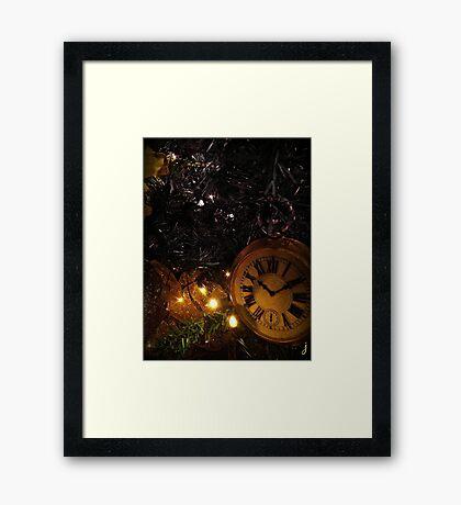 Time For Santa 2014 Framed Print