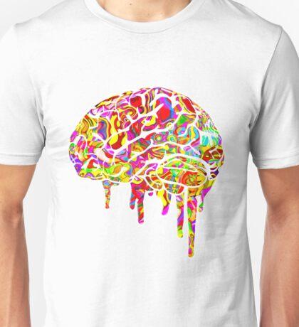 Melting Brain Unisex T-Shirt
