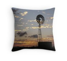 Days End, Central Queensland Throw Pillow