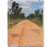 Red Earth in Zambia iPad Case/Skin