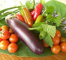 Fresh produce, Widgee Queensland by Lisa Evans