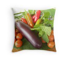 Fresh produce, Widgee Queensland Throw Pillow