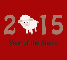 2015 Year of the Sheep design by Eggtooth