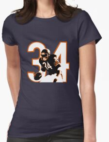 WALTER PAYTON Womens Fitted T-Shirt