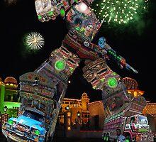 The New & Improved Karachi Kickbot Megus-10000 by Kenny Irwin