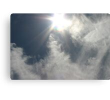 Gossamer Veil of Clouds Canvas Print