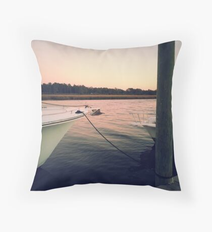 Little River, SC Throw Pillow