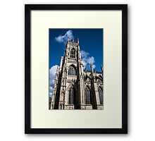 Looking Up at the York Minster #2 Framed Print