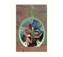 Taxila Stargate Art Print