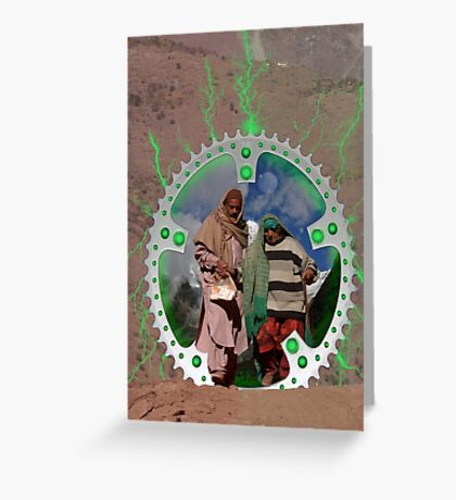Taxila Stargate Greeting Card