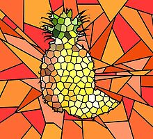 Pineapple Mosaic by Ingogliajv