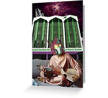 The Obi-Khan Deep Space Nebula Station Greeting Card