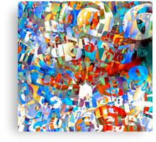 Fun Wit Numbers Canvas Print