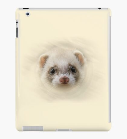 ferrety ferret iPad Case/Skin