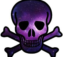 Galaxy Skull by CraftyCreepers