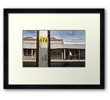 Move With The Times Framed Print