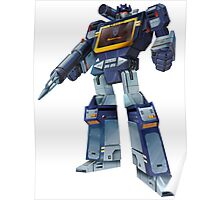 Masterpiece Soundwave (Transparent Background) Poster