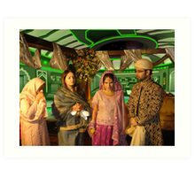 Trials and Tribulations of a Pakistani Wedding on a Pashtun Class Starship Art Print